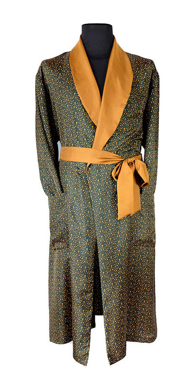 The 'Constellation' gentleman's dressing gown by Geoff Stocker