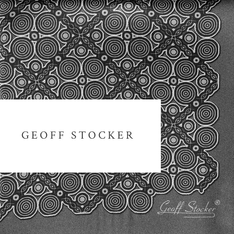 About Geoff Stocker pocket squares and dressing gowns