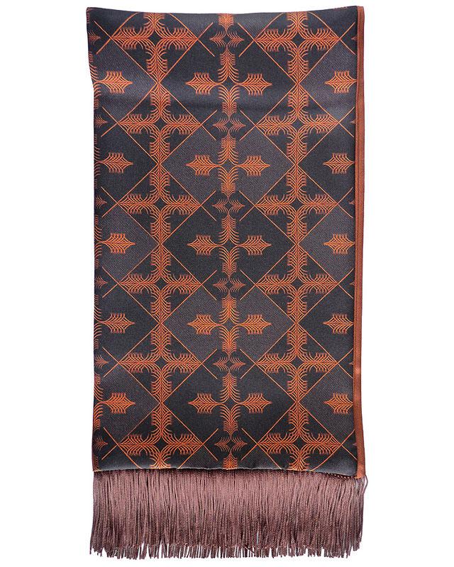 The 'Scots Pine' silk scarf by Geoff Stocker