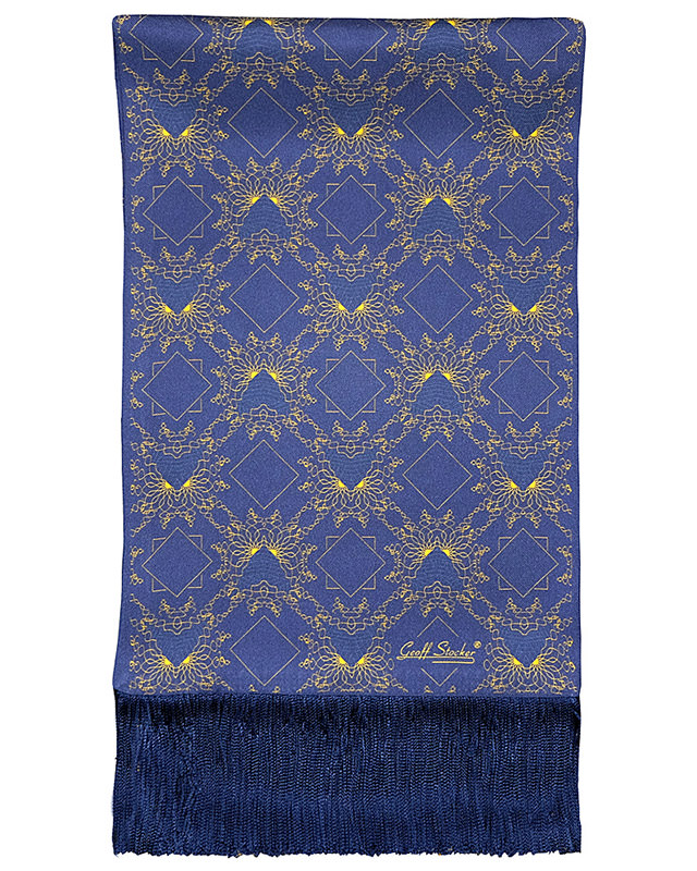 The 'Kubla Khan' silk scarf by Geoff Stocker